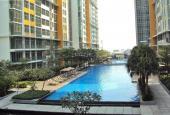 The Vista, 3 phòng ngủ, tầng trung nội thất cơ bản rộng rãi view hồ bơi cho thuê