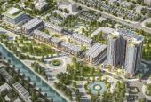 Bán chung cư cao cấp 104m2 view shophouse, công viên, sông + cầu Đuống