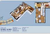 Chuyển nhượng căn góc 3 phòng ngủ hoa hậu tòa N03, chung cư New Horizon 87 Lĩnh Nam