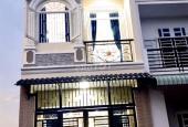 Bán nhà lầu chợ Bình Chánh, giá 750 triệu, sổ hồng sang tên. 1 trệt 1 lầu