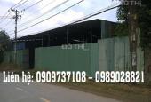 Chính chủ cần cho thuê nhà xưởng mặt tiền đường Mai Bá Hương, Bình Chánh