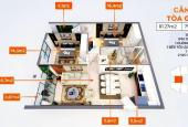 Cần bán chung cư 2PN - 76m2, 1,9 tỷ tại Long Biên, tặng ngay 148tr, CK 5%, nhận nhà quý 1/2021