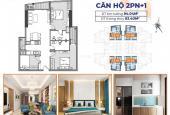 Bán căn hộ 3 phòng ngủ 83,4m2 chung cư Le Grand Jardin view TB, ĐB giá 2.013 tỷ bao VAT & PBT