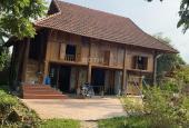 Bán nhà sàn cùng khuôn viên nghỉ dưỡng vô cùng đẹp tại Miễu Tiến Xuân, sát trường ĐH Thủy Lợi, ĐHQG