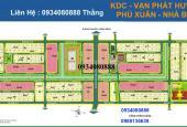 Bán gấp nền biệt thự khu dân cư Phú Xuân Vạn Phát Hưng vị trí đẹp, giá từ 24 tr/m2. LH: 0988136639