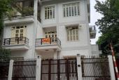 Cho thuê nhà biệt thự Nguyễn Thị Định, Cầu Giấy, DT 200m, 4 nổi 1 hầm, MT 10m. Giá 70tr/th