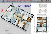 Chính chủ bán căn 61,94m2 chung cư CT1 - Yên Nghĩa, Hà Đông. Lh: 0975342826