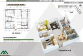 Bán căn hộ 3 PN, S = 80m2, giá 1.5tỷ có đồ tòa F. G. H. K. L bao phí. Dự án HH2 Xuân Mai Complex