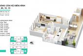 Cho thuê căn hộ Goldseason 3 ngủ full nội thất
