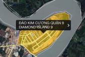 Chính chủ bán đất đảo Kim Cương, Quận 9, trục 20m giá 2tỷ990 Rẻ