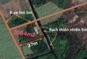 930tr có ngay 1000m2 đất làm nhà vườn đường xe hơi MT rạch lớn
