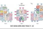 Cần bán căn hộ 2 ngủ diện tích 98.5m2 CC Sun Ancora Lương Yên tầng đẹp