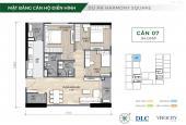 Mở bán căn hộ Harmony Square Thanh Xuân, chỉ 3,5 tỷ/căn góc 3PN full nội thất. NH hỗ trợ LS 0%