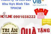 Ngân hàng VIB hỗ trợ thanh lý 18 lô đất khu Tên Lửa, Bình Tân gần vòng xoay Phú Lâm