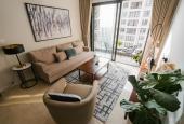 Cho thuê căn hộ C2.3618 Vinhomes D'Capitale, căn góc 60m2, 2 ngủ 1 vệ sinh, full nội thất cao cấp