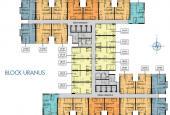 Bán căn hộ dự án Q7 Saigon Riverside, 1PN +, DT 53m2 giá gốc 1.850 tỷ