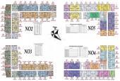 Bán CH Ecohome 3 Golden Times 1212 - N04: 65,8m2 & 1606 - N05: 62,6m2 CĐT 16,5tr/m2. 0906.217.669