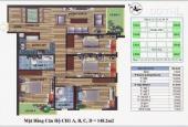Chính chủ bán căn chung cư CT4 Vimeco, Nguyễn Chánh, DT 148,2m2, giá rẻ CC: 0983 262 899