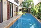 Biệt thự hiện đại hồ bơi sân vườn gần 500m2 khu Thảo Điền, giá 183,84 triệu/tháng