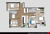 Cần bán gấp căn hộ 3PN dự án Iris Garden 133m2, view vườn hoa nội khu, nhận nhà ngay