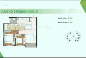 Bán căn hộ Sadora, 2PN, full nội thất, giá 5,99 tỷ
