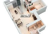 Cho thuê căn hộ The Park Residence 61m2, 2PN giá thuê chỉ 6 triệu/tháng. LH: 0946894828