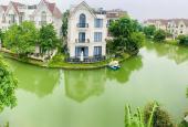 Biệt thự song lập thô 220m2 Vinhomes Riverside, ngã ba sông đẹp, Hoàn thiện cơ bản