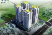 Chỉ 350tr căn hộ 2PN dự án THT New City, Hoài Đức, Hà Nội