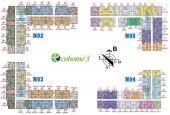 Bán CC Ecohome 3, tầng 2022 - 62m2 - NO4 (1.2 tỷ) & 1025 - 68m2 - NO5 (1.4 tỷ). LH 038*919*3082