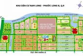 Lô đất nhà phố khu dân cư Nam Long, Phước Long B, Tp. Thủ Đức