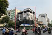 Cho thuê nhà góc 2MT 151 Trương Định, Quận 3 DT: 18x16m. KC: Hầm, 4 tầng, 2 TM, ST có mái che