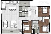 Căn hộ The View - Riviera Point, Quận 7, DT 148m2, 4 phòng, nhà thô, view Phú Mỹ Hưng cần bán gấp