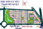 Nhượng đất khu 1 lô U đường Nguyễn Quang Bật Thạnh Mỹ Lợi Quận 2. Huy 0909 723 681