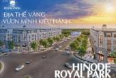 Bán shophouse 2 mặt tiền Hinode Royal Park. Giá chỉ từ 65tr/m2, chiết khấu tới 8% GTCH
