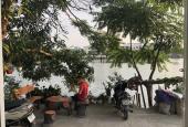 Bán nhà Nguyễn Khoái, Hoàng Mai, lô góc, ô tô đỗ cửa, view hồ thoáng mát 38m2x4 tầng