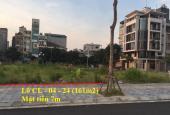 Bán đất đấu giá 161m2 khu 3ha đường Phúc Lộc Bắc Sông Thiếp, khu quan chức người giàu Đông Anh
