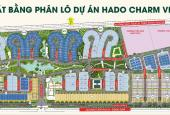 Bán Biệt thự, liền kề dự án Hado Charm Villas tại Hoài Đức. LH 0385696686