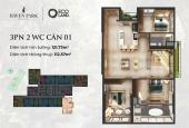 Em cần cắt lỗ bán gấp căn hộ 3PN, 2VS tầng đẹp view biệt thự đảo của Haven Park - LH 0869096993