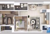 Cho thuê căn hộ 2PN đầy đủ nội thất chỉ 12tr/tháng