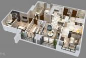 Chung cư Goldmark City bán căn Dt 143m2 3PN bàn giao thô giá chỉ 26 triệu/m2 đóng 50% nhận nhà