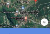 Chỉ hơn 400tr có ngay 480m2 đất thị trấn Cao Phong, Hòa Bình