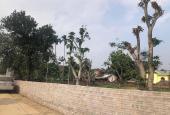 Bán nhanh lô góc 1171m2 tại Vân Hòa Ba Vì, trong đất có ao, view thoáng đẹp LH 0866990503