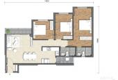 Tương lai phát triển bậc nhất HCM, Thủ Thiêm Q2 căn hộ cao cấp 3PN 101m2 Precia chỉ 59 triệu/m2