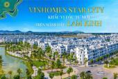 Vinhomes Star City Thanh Hóa, cần bán biệt thự song lập diện tích 180m2 phân khu hướng dương