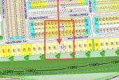 Bán đất biệt thự: Nguyễn Đình Thi 15x35=525m2 giá 35tr/m2 hướng: Tây Bắc