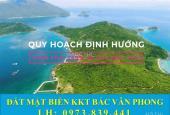 Đất Mặt Biển Bán Đảo Đầm Môn xã Vạn Thạnh thộc KKT Bắc Vân Phong giá chỉ 1tr/m2
