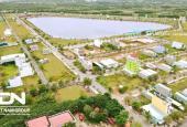 Bán đất chính chủ khu dân cư Hương Sen Graden (KDC Tân Đô) sổ hồng riêng view hồ sinh thái