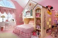 Phòng của bé gái thêm dễ thương với 15 mẫu giường tuyệt đẹp