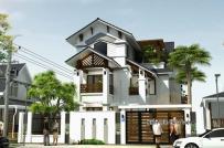 Biệt thự hiện đại, gần gũi với không gian làng quê