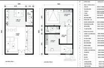 Tư vấn bố trí nội thất cho nhà 40m2 có hai phòng ngủ